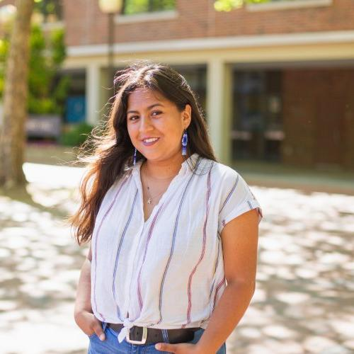 Graciela, a human services student at Western
